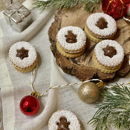 Linzer Cookies (Biscotti di Natale)