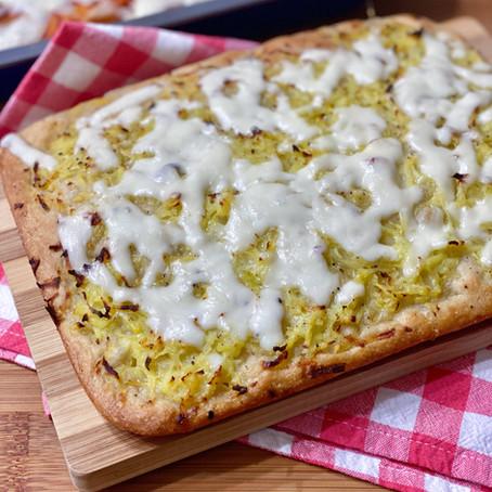 Pizza Bianca con Patate e Mozzarella