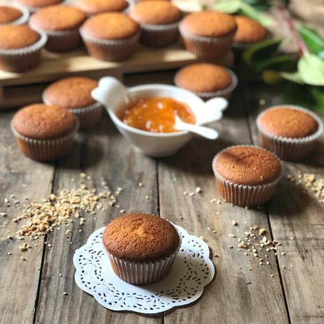 Muffin soffici alla marmellata