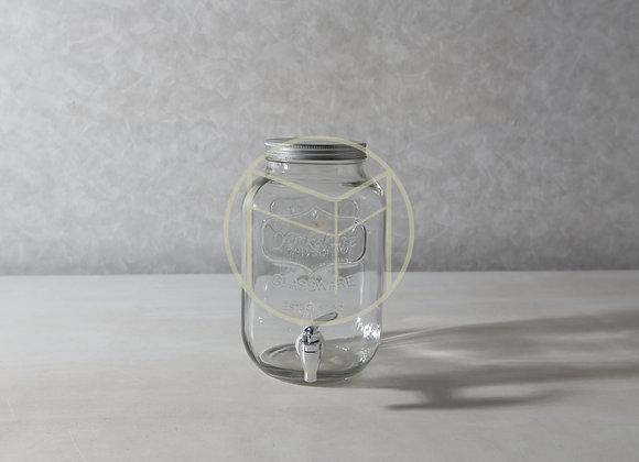Suqueira de Vidro Pote 4 litros