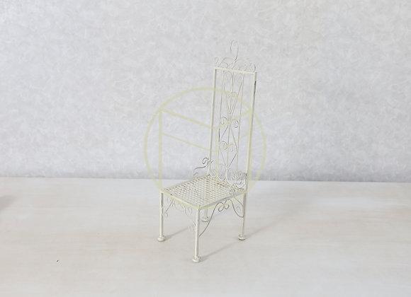 Cadeira Mini Ferro Offwhite
