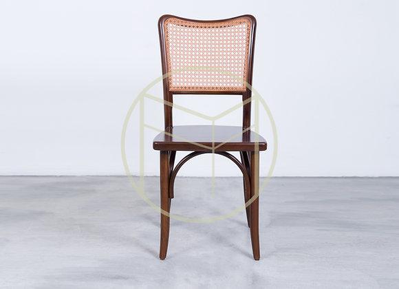 Cadeira Palhinha Madeira Imbuia