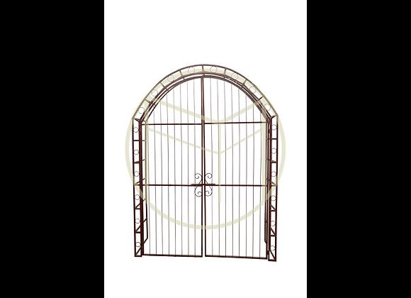 Portal Arco Ferro com opção de portas