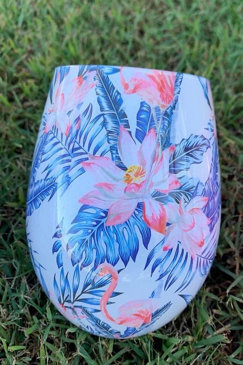 Renee Flamingo Jar