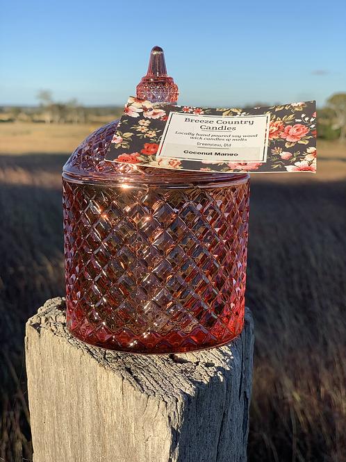 Rose Gold Jar
