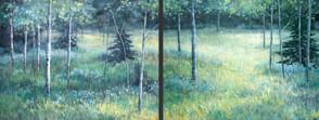 Willows and Aspen (Diptyk)