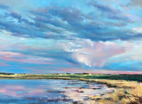 Pink Prairie Rain