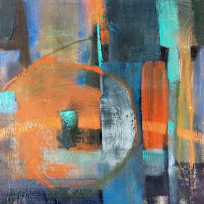 Trajectory Through Blue