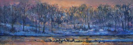 Dusk on the Bow River