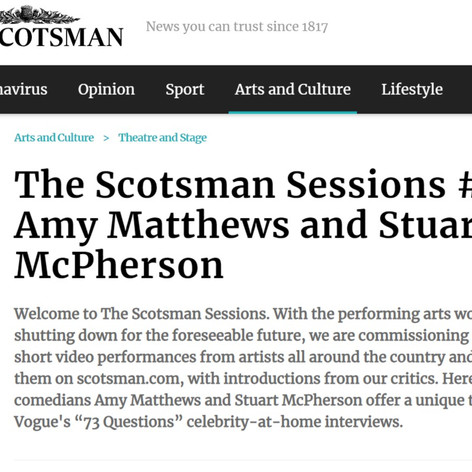 THE SCOTSMAN SESSIONS
