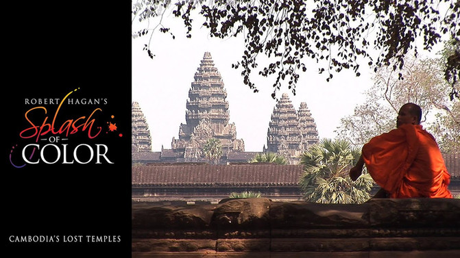 'Splash of Color' - Cambodia's Lost Temples
