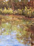 Fran Ellisor painting titled Armand Bayou