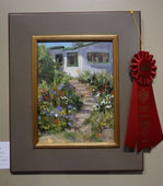 Fran Ellisor painting, Isabey Wet Wall Award, AIS Small Works, 2017