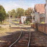 Fran Ellisor painting titled On the Eastside