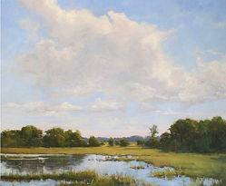 Painting by Fran Ellisor - Summer