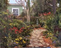 Fran Ellisor painting titled Independence Bound
