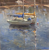 Fran Ellisor painting titled Respite