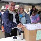 Janet Harper with Ed Harper at registrat