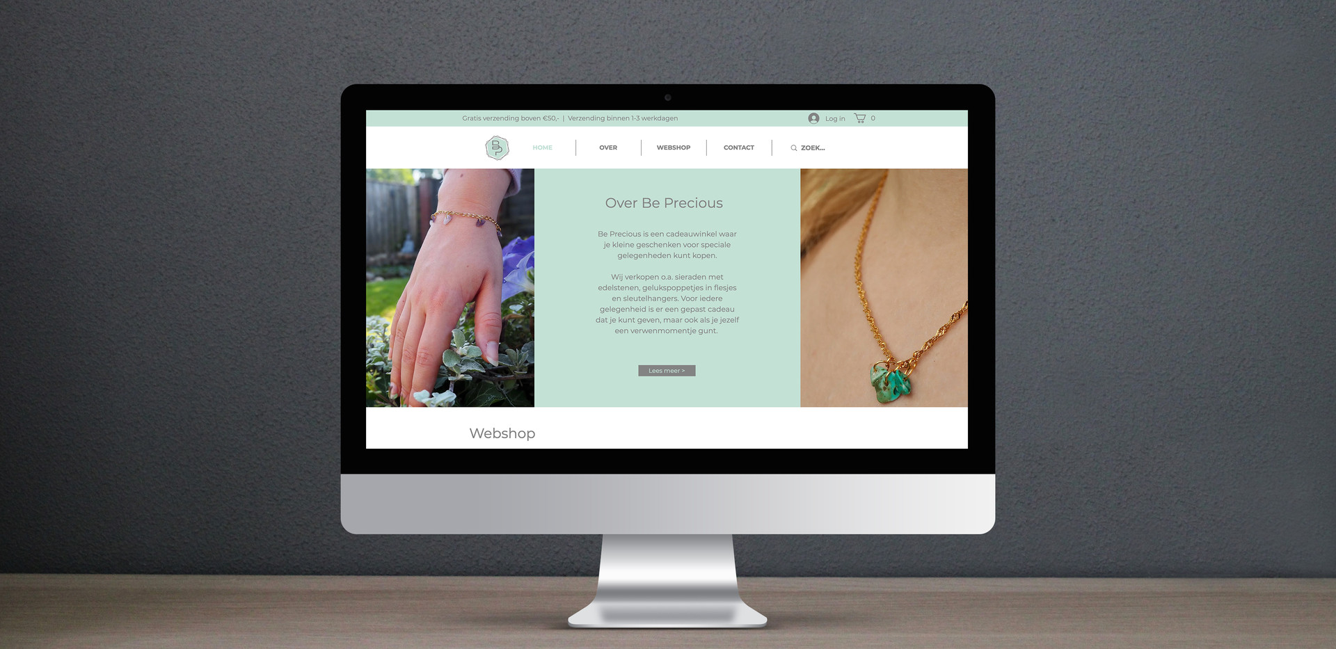 Website - Be Precious