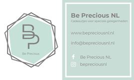 Advertentie Be Precious