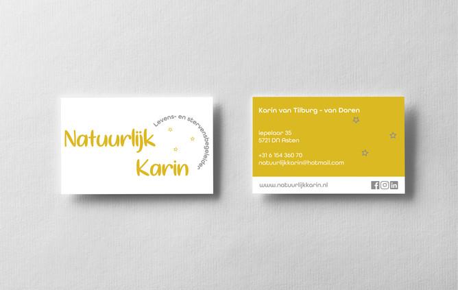 Visitekaartjes - Natuurlijk Karin