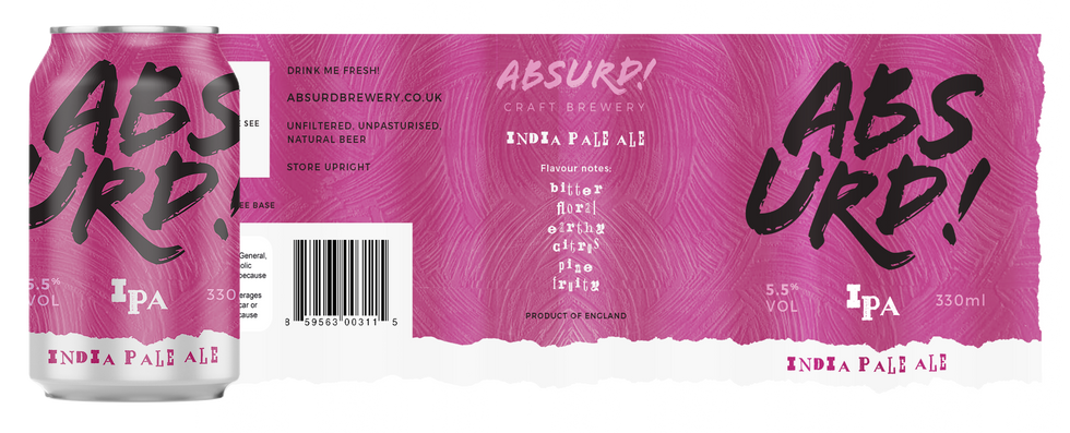 Absurd! IPA Label