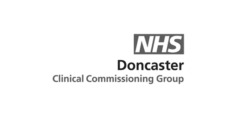 NHS Doncaster (B&W).png