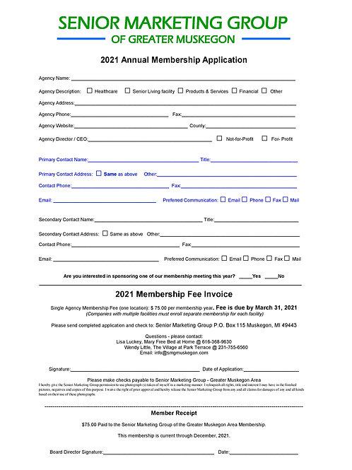 2021 SMG Membership