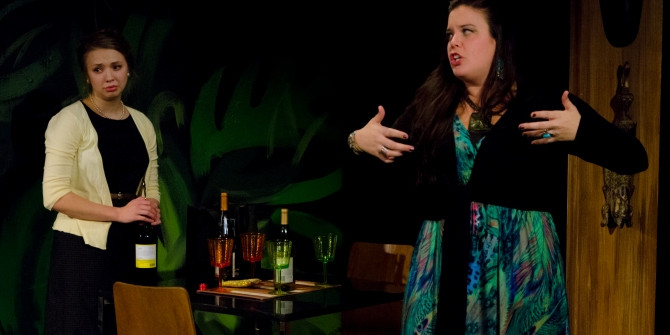 """The first review is in: """"one of the funniest plays you'll see this season"""""""