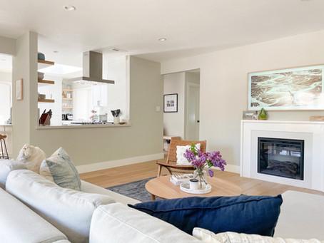 Get the look: California Coastal Meets Scandinavian Family Room