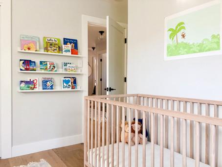 Neutral Jungle Nursery Reveal