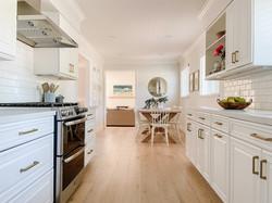 white-bright-galley-kitchen