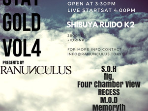 Next Live 7/16 渋谷RUIDO K2 詳細解禁!!