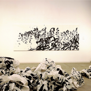 【イベントレポート】小林勇輝 展 / 書と音のアートライブ