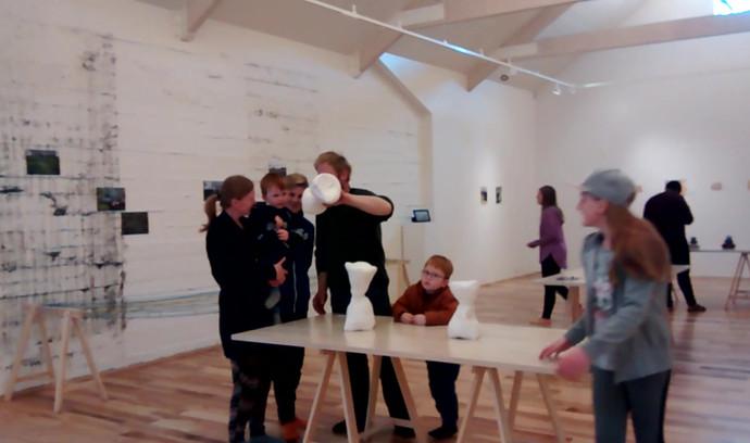 Exhibition at Baer Art Center, Hofsós, Iceland