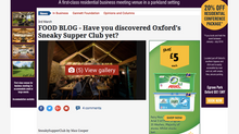 Guest blog post in the Oxford Times newspaper