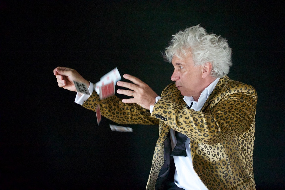 Magician Stevie Wander Bristol