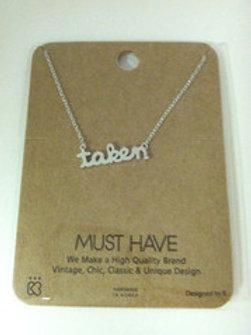 Bachelorette Take Necklace