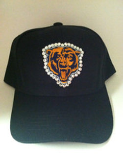 Blinged Out Chicago Bear's Hat