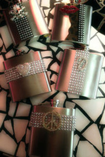 Blinged out Flasks