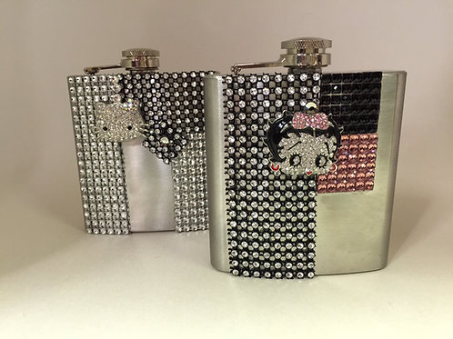Betty Boop/Hello Kitty Flask