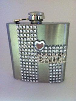 Bachelorette Bride Flask