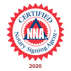 Membership and Loan Signing Agent Certified by the National Notary Association. Click to view agent profile.