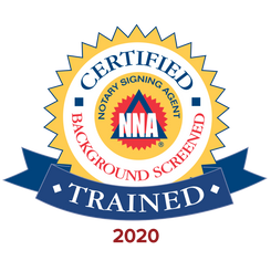Trained and Background Check by National Notary Association. Click to view agent profile.