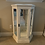 """Thumbnail: White Cabinet Lightly Distressed 24"""" Wide X 37"""" High X 10 1/2"""" Deep"""