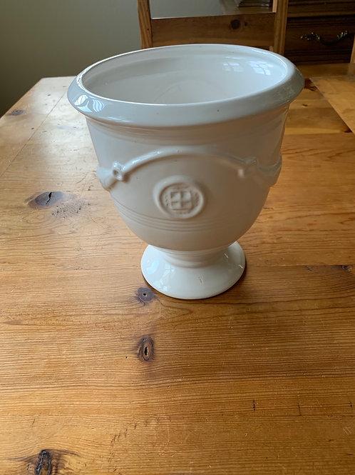 White Beautiful  Pot