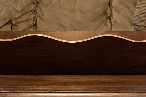 "Wood Planter Box 30"" Long X 7"" Deep"