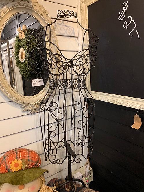 Beautiful Metal Dress Form