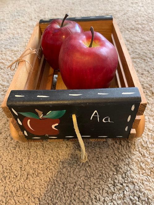 Little Wagon W/ Apples