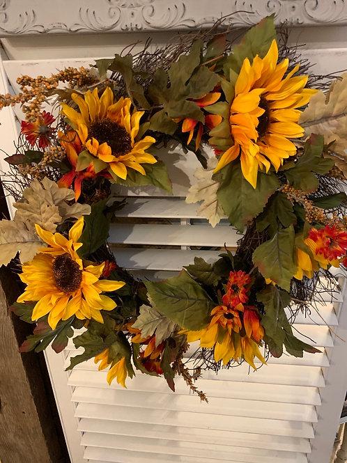 Sale Harvest Wreath